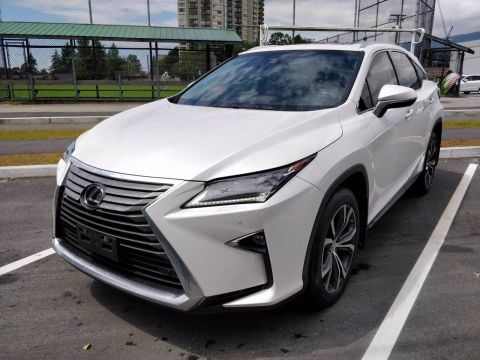 Pre-Owned 2017 Lexus RX 350 LUXURY PACKAGE AWD 4D Sport Utility