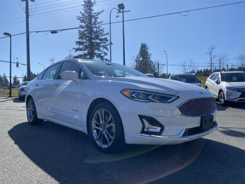 Pre-Owned 2019 Ford Fusion Hybrid Titanium FWD 4dr Car
