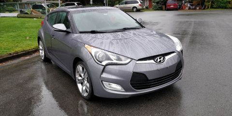 Pre-Owned 2015 Hyundai Veloster Tech FWD 3dr Car