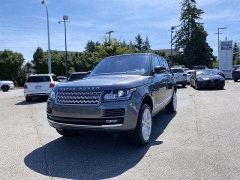 Pre-Owned 2016 Land Rover Range Rover 5.0L V8 Supercharged 4WD 4D Sport Utility